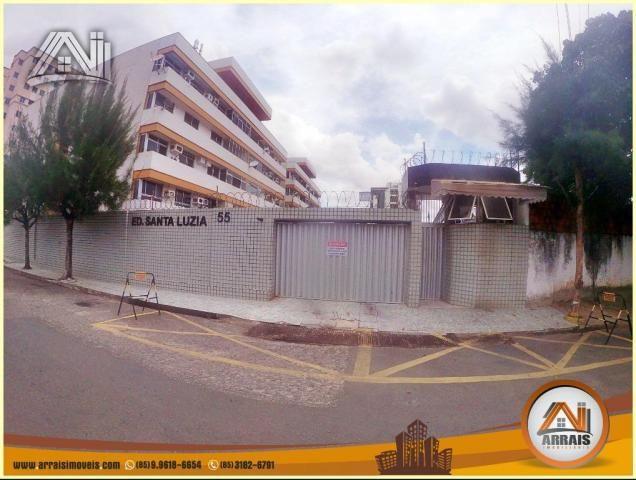 Apartamento à venda, 117 m² por R$ 370.000,00 - Vila União - Fortaleza/CE