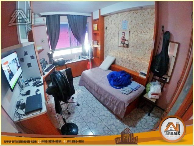 Apartamento à venda, 117 m² por R$ 370.000,00 - Vila União - Fortaleza/CE - Foto 15