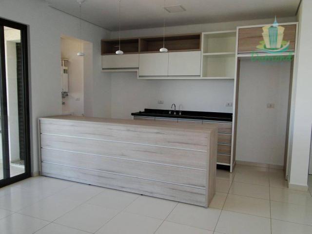 Apartamento com 2 dormitórios para alugar, 98 m² por R$ 2.000,00/mês - Conjunto A - Foz do - Foto 3