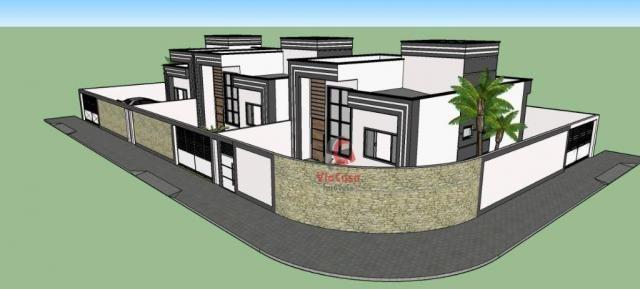 Casa linear com 2 dormitórios à venda, 62 m² Terra Firme - Rio das Ostras/RJ - Foto 5