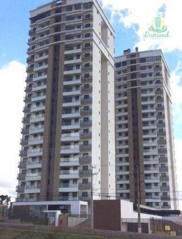 Apartamento com 2 dormitórios para alugar, 98 m² por R$ 2.000,00/mês - Conjunto A - Foz do