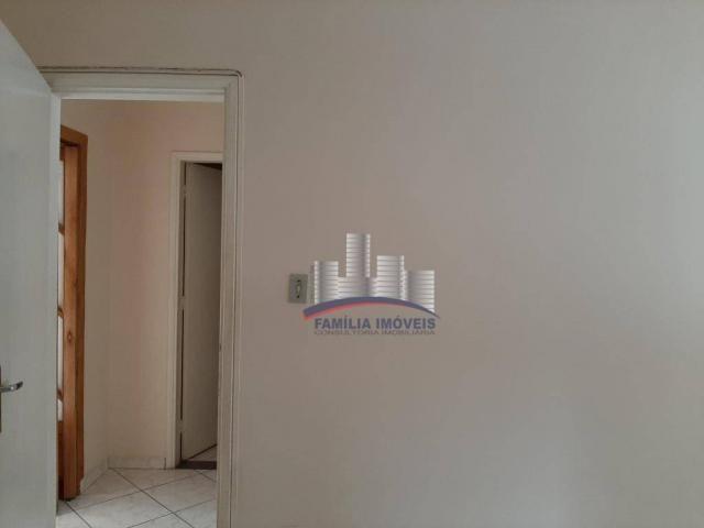 Apartamento com 2 dormitórios para alugar por R$ 1.799,98/mês - Encruzilhada - Santos/SP - Foto 12