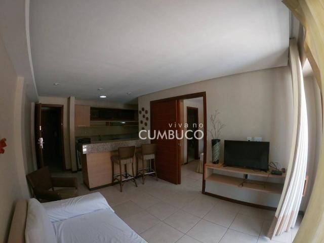 Apartamento com 1 dormitório à venda, 46 m² por R$ 285.000,00 - Cumbuco - Caucaia/CE - Foto 4