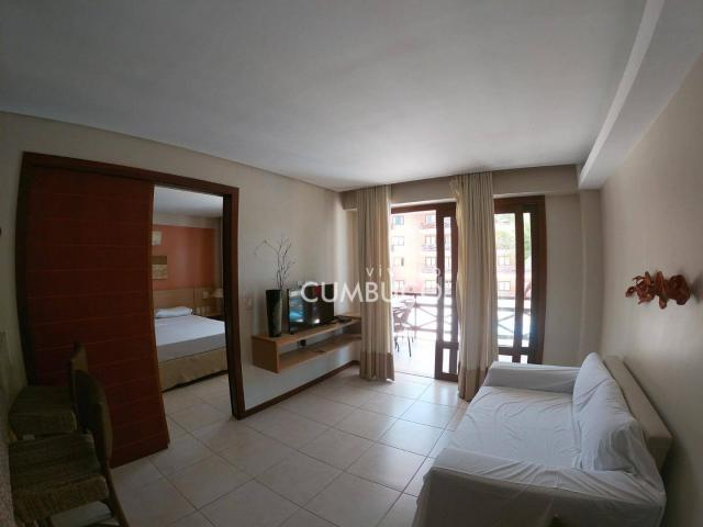 Apartamento com 1 dormitório à venda, 46 m² por R$ 285.000,00 - Cumbuco - Caucaia/CE - Foto 3