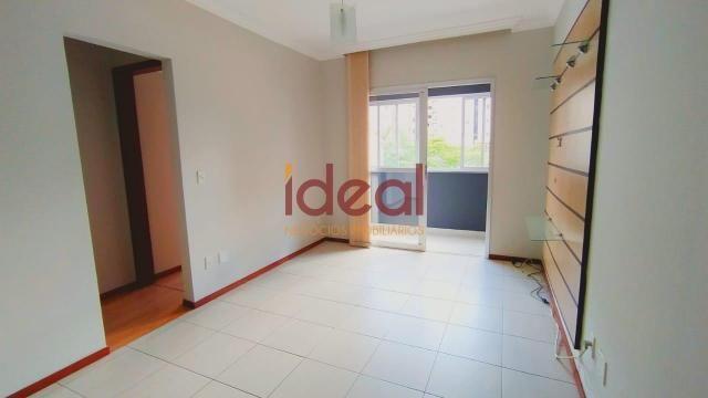 Apartamento para aluguel, 2 quartos, 1 suíte, 1 vaga, Centro - Viçosa/MG - Foto 2