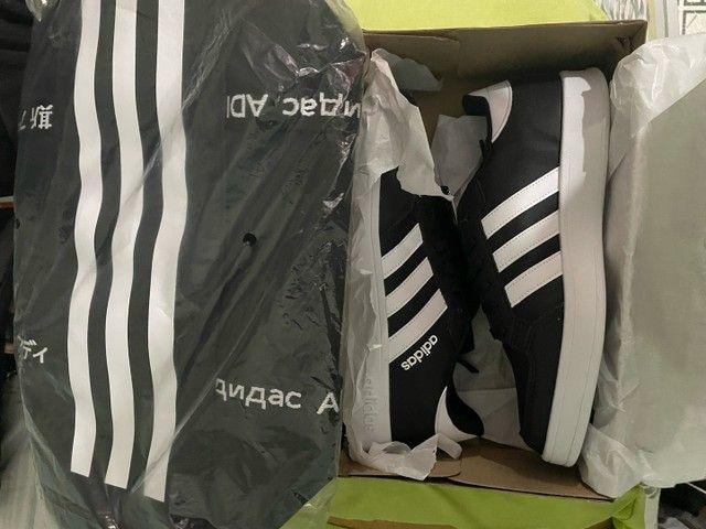 Combo Bolsa Adidas Duffel + Tênis Adidas Breaknet Pronta entrega - Foto 4