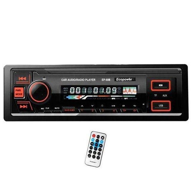 Rádio Automotivo com USB e Bluetooth em até 12x sem juros