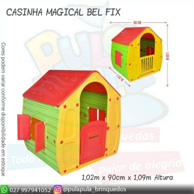 Novidade!! Casinhas Infantis coloridas para sua área Kids e diversão infantil - Foto 3