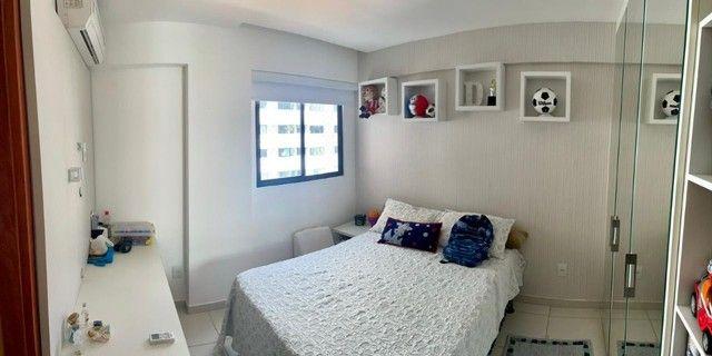 Apartamento na Jatiuca, 110m², 3/4-2 suites, varanda integrada - Foto 6