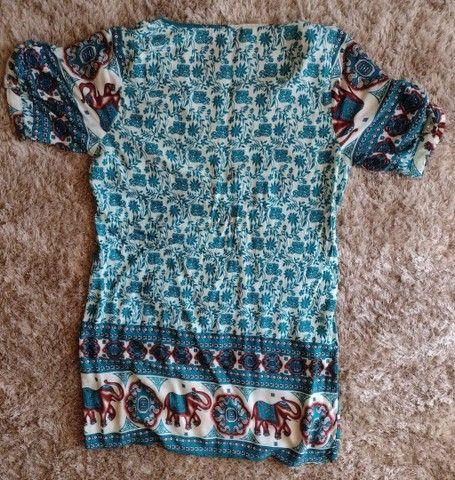 Vestido indiano Tam G - Foto 5