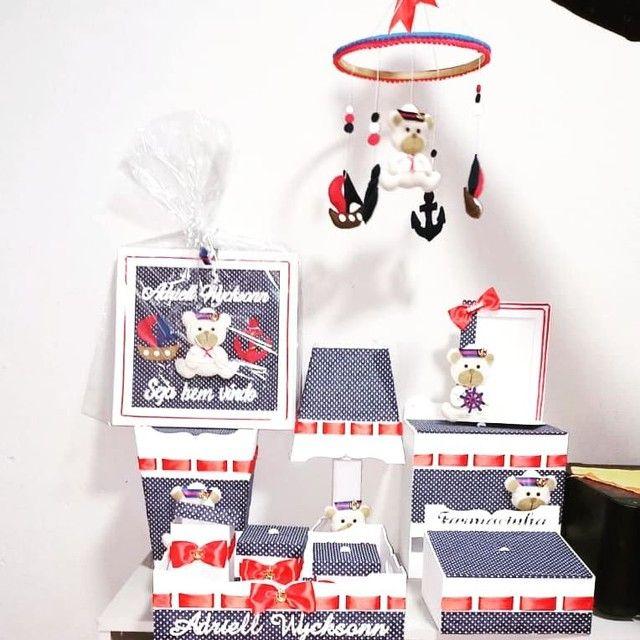 Kit higiene personalizado em mdf