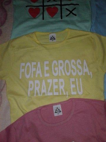 Camiseta baby look - Foto 2