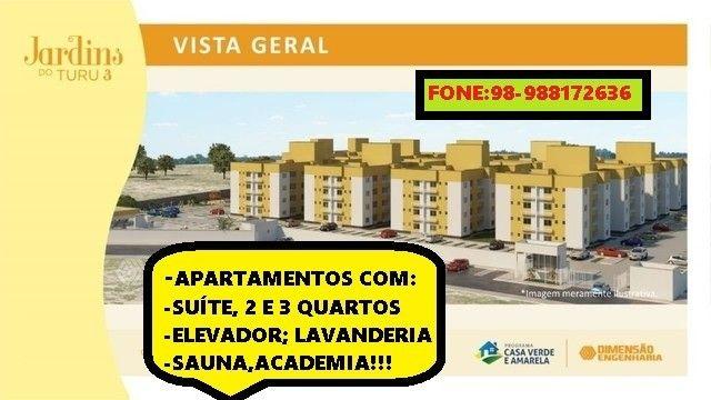 50/Apê Turu, 2 e 3 quartos,elevador e suíte!
