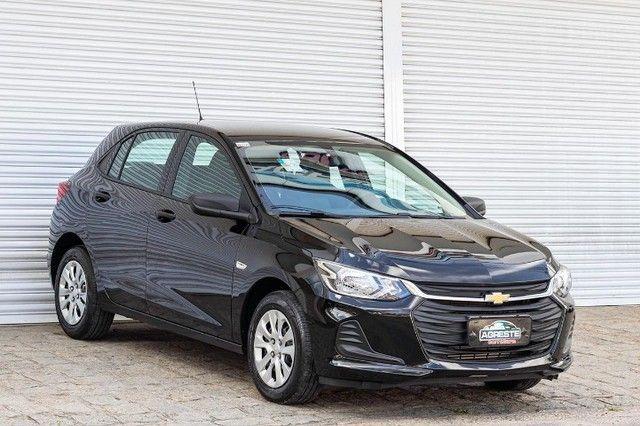 Chevrolet onix hatch at turbo 1.0 2021 *IPVA 2021* - Foto 3