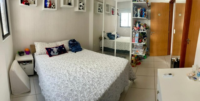 Apartamento na Jatiuca, 110m², 3/4-2 suites, varanda integrada - Foto 8