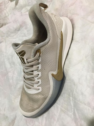 Tênis Nike 41-42 zoom Mamba Focus kobe Bryant cor rara+Bermuda Adidas poliéster  - Foto 3