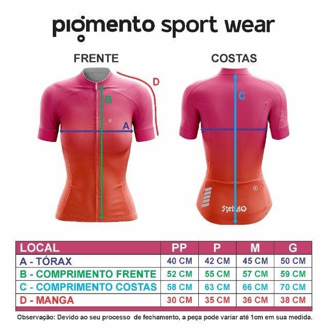 Camiseta Ciclismo Feminina  - Foto 5