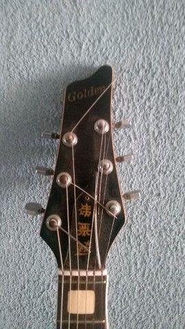 Guitarra Golden Ano 1986 ( item de colecionador ) ótimo estado - Foto 4