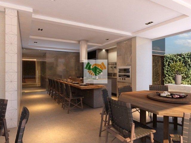 Novos apartamentos de luxo com 3 e 4 quartos à venda no bairro Funcionários em BH - Foto 13