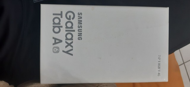 Samsung galaxy tab A6 com nota fiscal