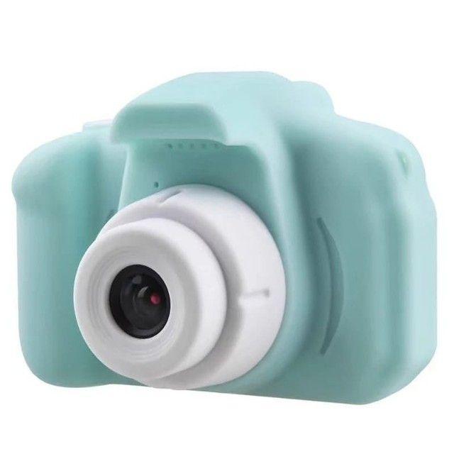 Mini Câmera HD com Jogos Infantil