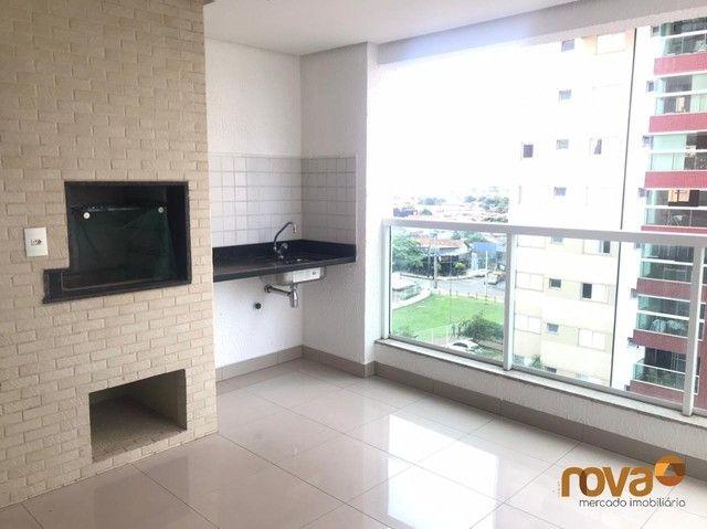 Apartamento à venda com 3 dormitórios em Residencial eldorado, Goiânia cod:NOV235809 - Foto 5