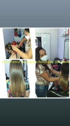 Curso de escovista para iniciantes/ cabelereiro/auxiliar de cabelereiro. - Foto 5