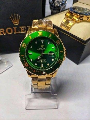 Rolex Submariner Verde linha Gold (1ª Linha) - Foto 2