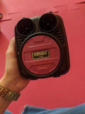 Caixa de som Bluetooth portátil - Foto 2