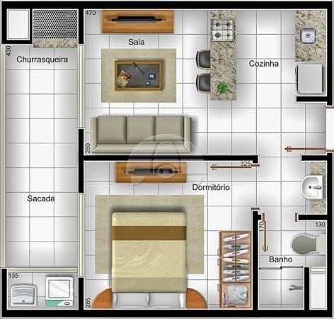 Apartamento à venda com 1 dormitórios em Caioba, Matinhos cod:144662 - Foto 4
