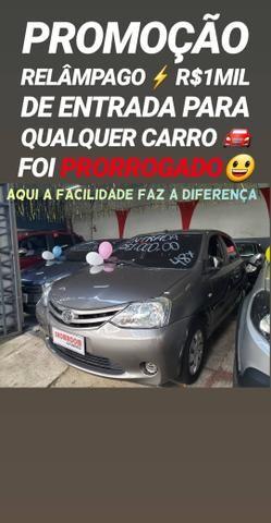 Toyota/ETIOS 1.3 X AUTOMÁTICO 2017 COM R$1MIL DE ENTRADA NA SHOWROOM
