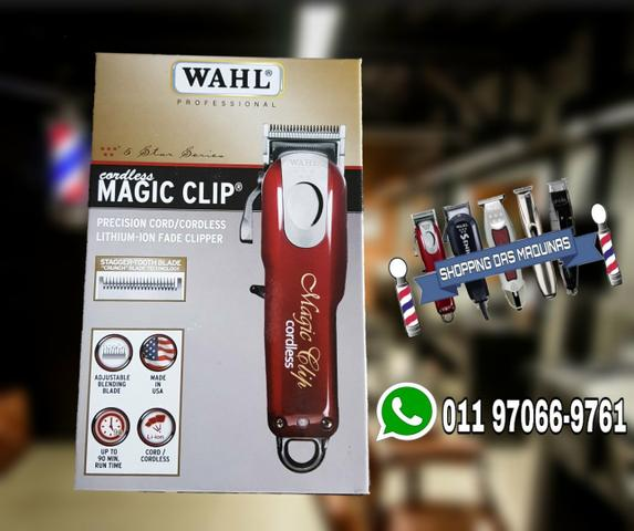 8090349f6 Wahl magic clip cordless bivolt pentes premium - Beleza e saúde ...
