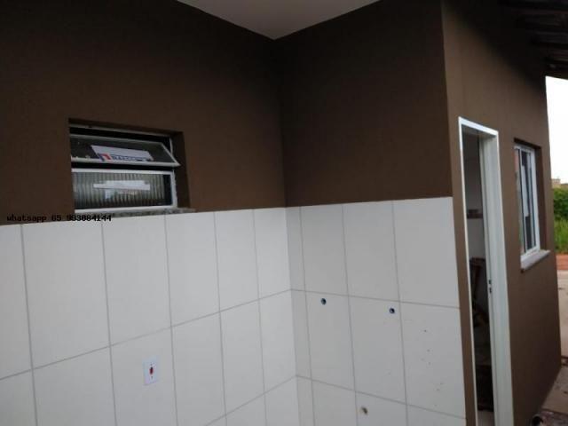 Casa para venda em várzea grande, canelas, 2 dormitórios, 1 banheiro, 2 vagas - Foto 8