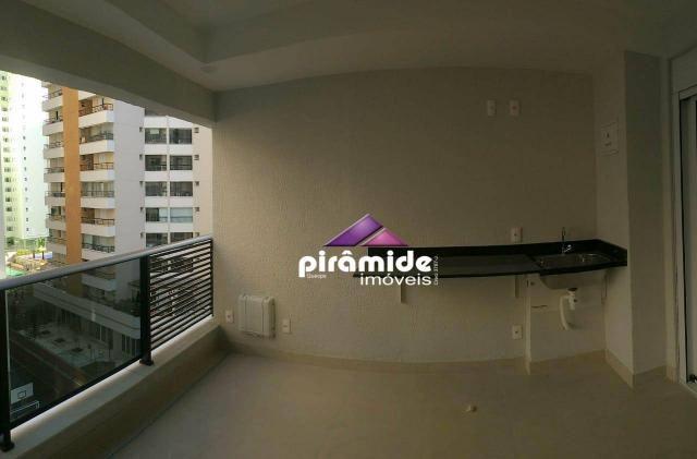 Apartamento com 1 dormitório à venda, 43 m² por r$ 295.000,00 - jardim aquarius - são josé