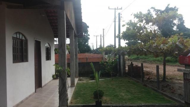 Boa casa de alvenaria em itapoá, aproximadamente 1.100 metros da praia, total de 108 m2 co - Foto 7