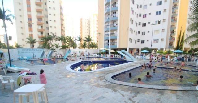Apartamento 1 quarto para temporada em caldas novas, aguas da fonte, 1 dormitório, 1 banhe
