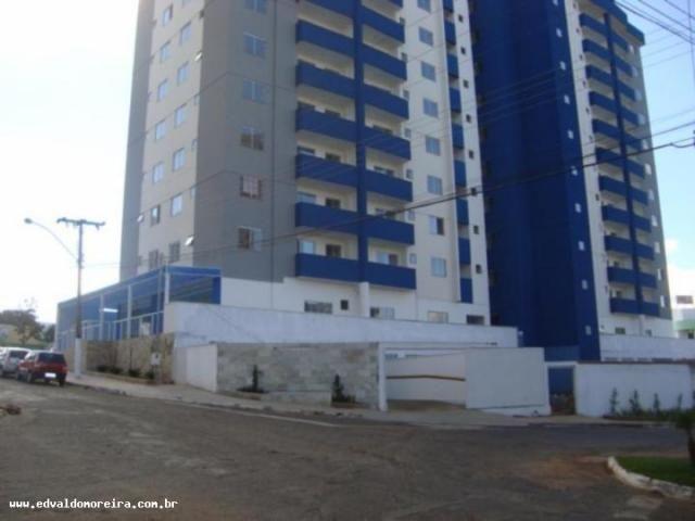 Apartamento 2 quartos para temporada em caldas novas, cezar park, 2 dormitórios, 1 banheir - Foto 2