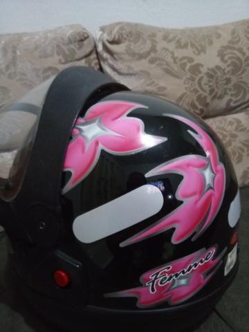 Vendo capacete San marino tamanho 56