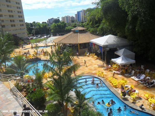 Apartamento 2 quartos para temporada em caldas novas, golden dolphin grand hotel, 2 dormit - Foto 5