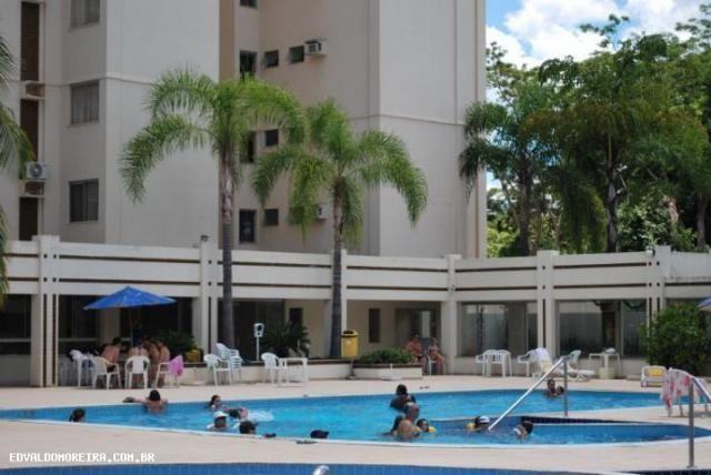 Apartamento 2 quartos para temporada em caldas novas, royal residence, 2 dormitórios, 1 su - Foto 13
