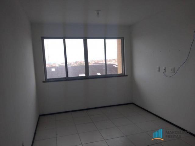 Apartamento com 2 dormitórios para alugar, 52 m² por r$ 1.109/mês - álvaro weyne - fortale - Foto 10
