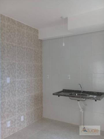 Apartamento com 2 dormitórios à venda, 59 m² - jardim santa rita i - nova odessa/sp - Foto 3