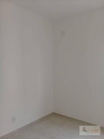 Apartamento com 2 dormitórios à venda, 59 m² - jardim santa rita i - nova odessa/sp - Foto 10