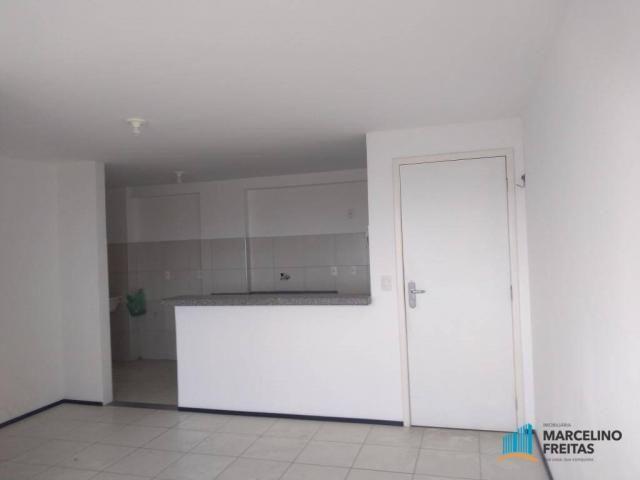 Apartamento com 2 dormitórios para alugar, 52 m² por r$ 1.109/mês - álvaro weyne - fortale - Foto 11