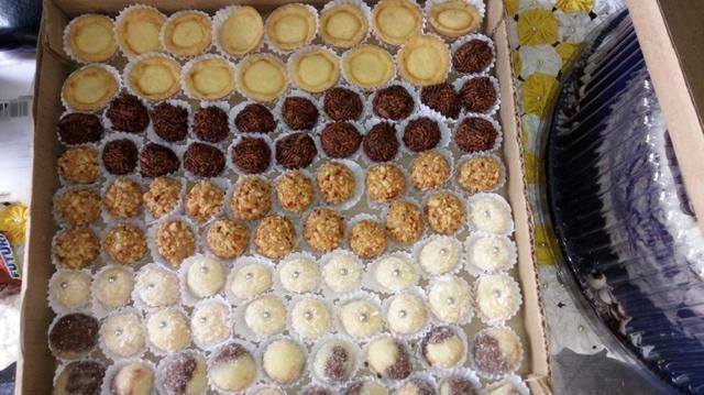 Pacote Natalino Doces & Salgados Fritos