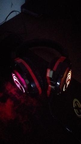 Fone headset game rgb