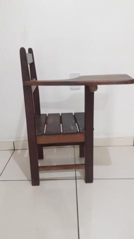 Cadeira de estudante de madeira - Foto 3
