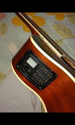 Vendo ou troco violão Tagima Dallas - Foto 3