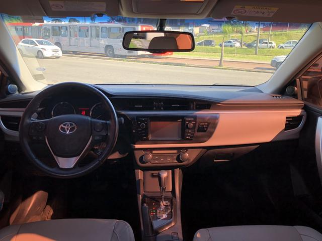 Toyota Corolla XEi 2.0 2015/2016 Placa A Único Dono Top de Linha IPVA 2020 PAGO - Foto 9