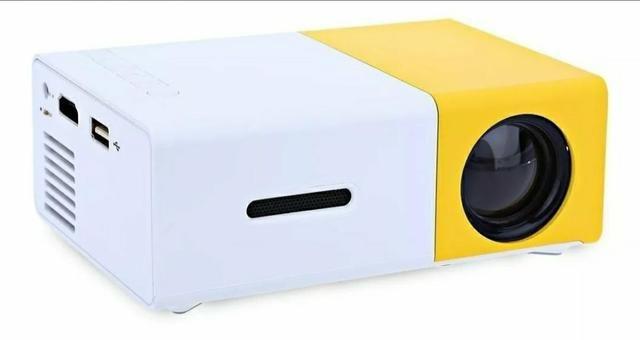 Mini Projetor Portátil Full Hd Led 600 Lumens - Foto 3